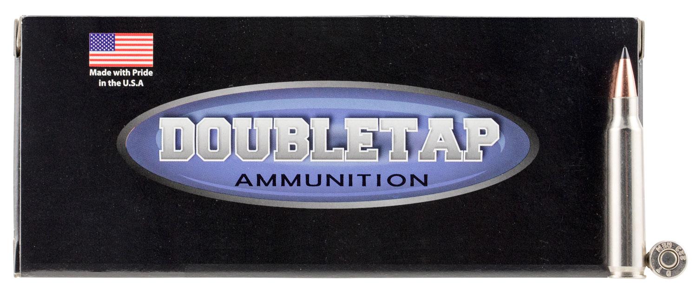 DoubleTap Ammunition 223R62SS DT Tactical 223 Remington/5.56 NATO 62 GR Full Metal Jacket Boat Tail 20 Bx/ 50 Cs