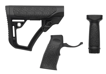 STOCK/GRIP/FOREGRIP COMBO BLK - 28-102-06145-006