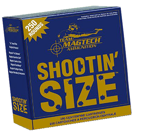 Magtech MP380A Sport Shooting 380 ACP 95 GR FMJ 250 Bx/ 4 Cs