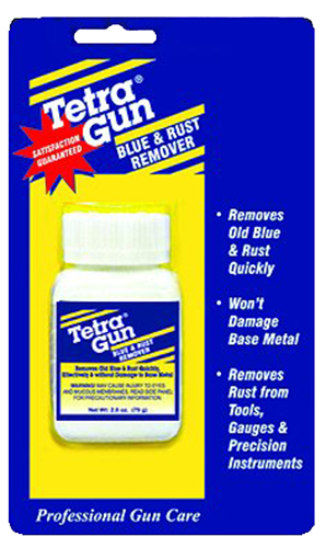 TETRA GUN BLUE & RUST REMOVER (2.7 OZ.) BLISTER PACK