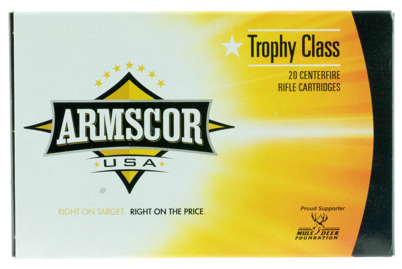 Armscor FAC300WSM165 300 Winchester Short Magnum (WSM) 165 GR AccuBond 20 Bx/ 8 Cs