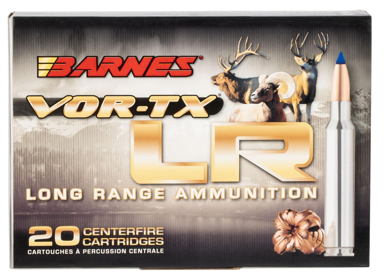 Barnes Bullets 29061 VOR-TX 338 Remington Ultra Magnum (RUM) 250 GR LRX Boat Tail 20 Bx/ 10 Cs