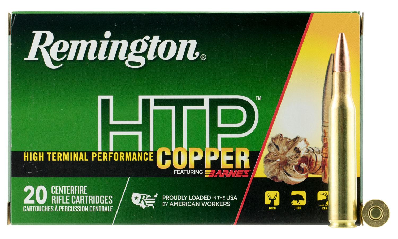 Remington Ammunition HTP270W HTP Copper 270 Winchester 130 GR TSX 20 Bx/ 10 Cs