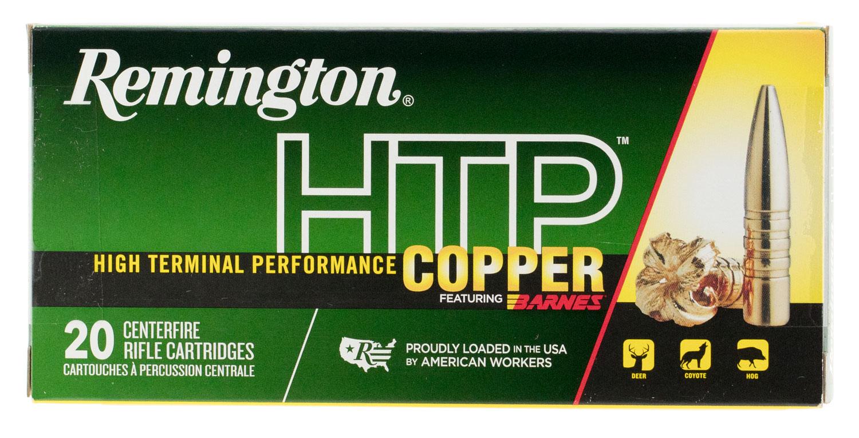 Remington Ammunition HTP300AAC HTP Copper 300 AAC Blackout/Whisper (7.62x35mm) 130 GR TSX 20 Bx/ 10 Cs