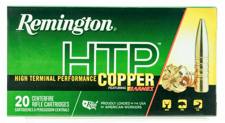 Remington Ammunition HTP308W HTP Copper 308 Winchester/7.62 NATO 168 GR TSX 20 Bx/ 10 Cs