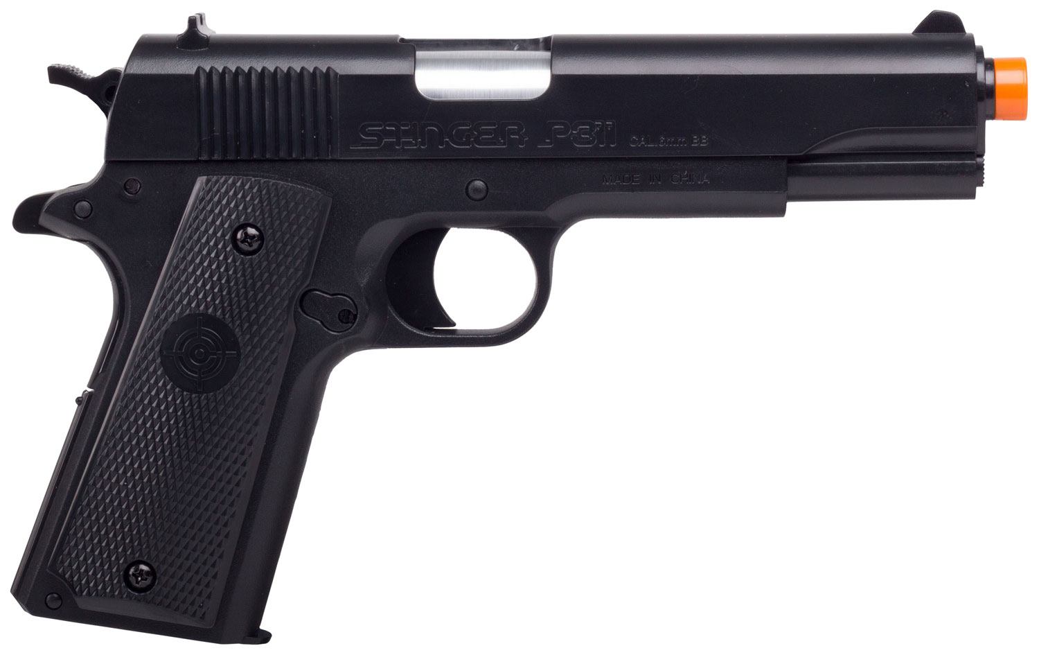 Crosman ASP311B Stinger Air Pistol Semi-Automatic 6mm Airsoft Black