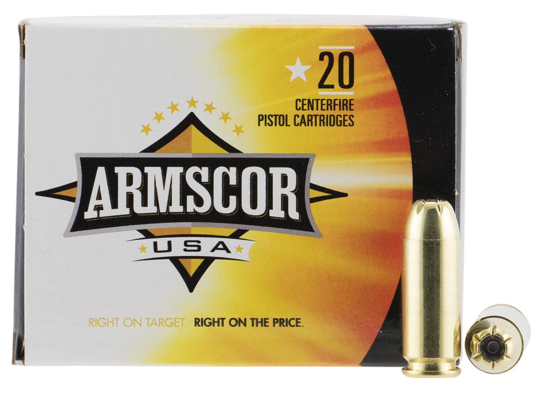 Armscor FAC103N 10mm Automatic 180 GR JHP 20 Bx/ 25 Cs
