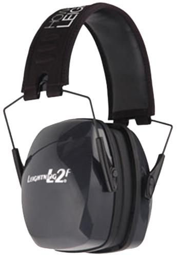 Howard Leight R01525 Leightning Passive Earmuffs 27 dB Black/Gray