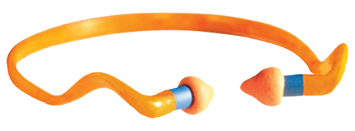 Howard Leight R01538 Multiple Use Quiet Band Earplugs 25 dB Orange