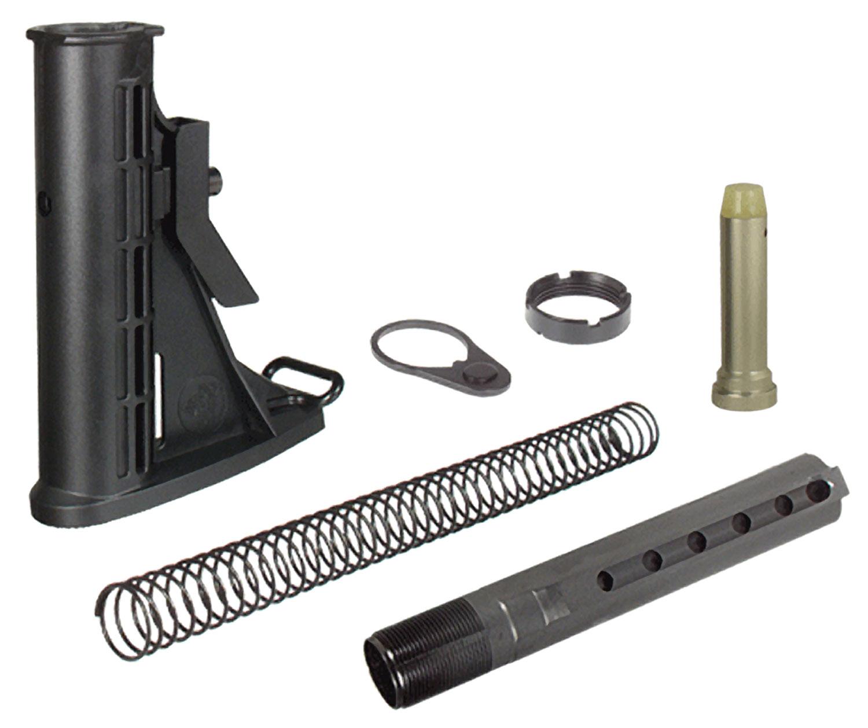 UTG STOCK ASSEMBLY AR-15 BLACK 6 POSITION MIL-SPEC