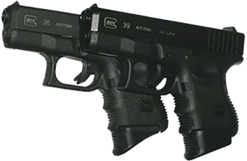 Pearce Grip PG26XL Glock Grip Extension Glock 26/27/33/39 Black Polymer