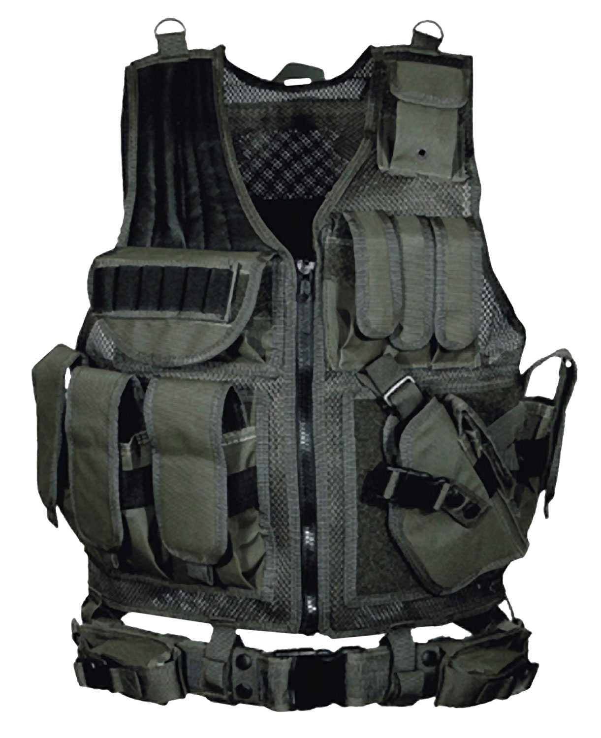 UTG PVC-V547BT Tactical Vest Nylon Mesh One Size Fits Most Black
