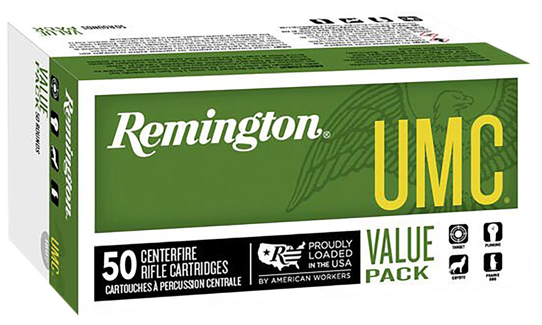 Remington Ammunition L223R8V UMC 223 Remington/5.56 NATO 50 GR Jacketed Hollow Point 20 Bx/ 10 Cs