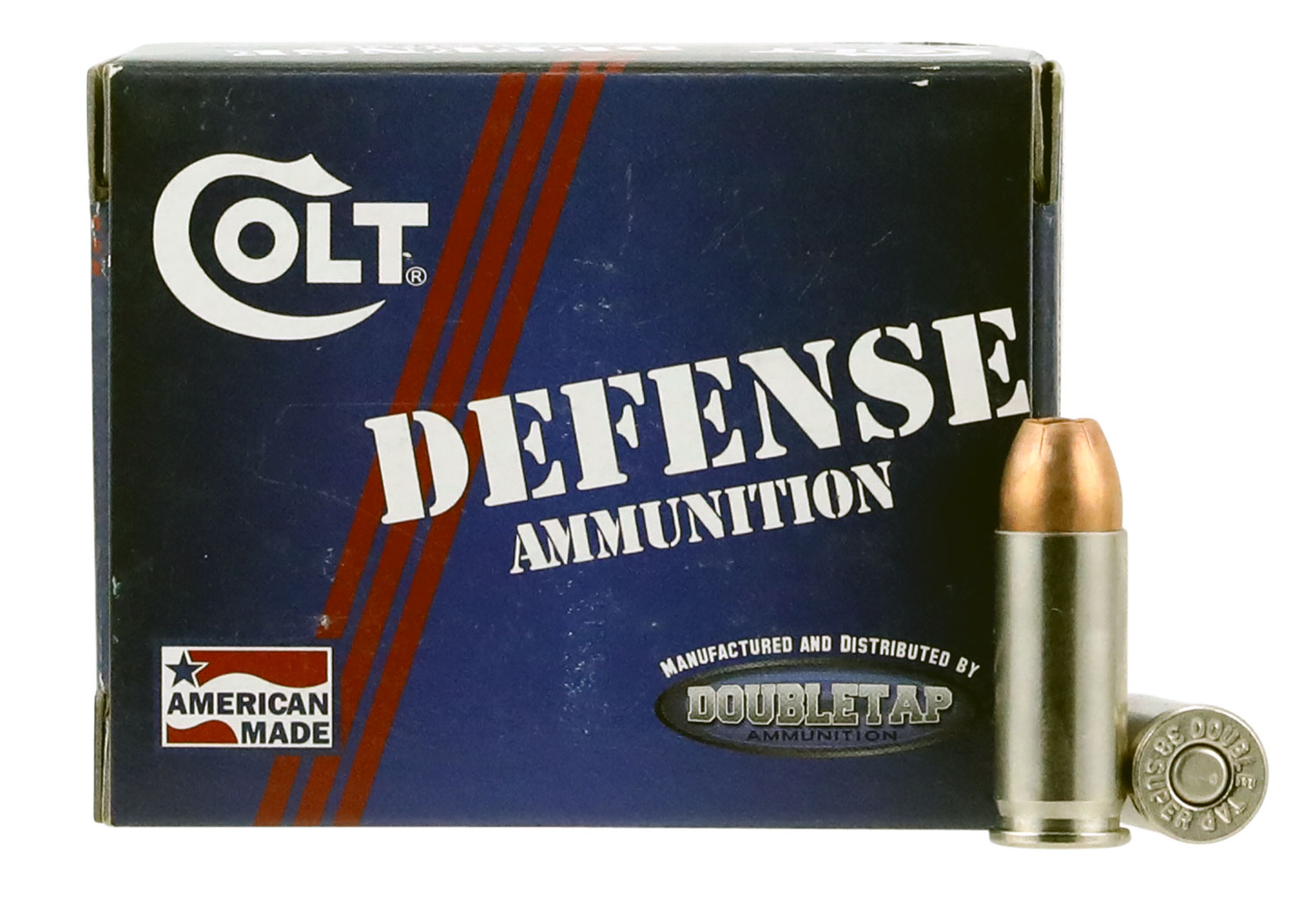 Colt Ammo 38SU124CT Defense 38 Super 124 GR Jacketed Hollow Point 20 Bx/ 50 Cs