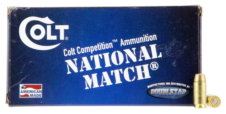 Colt Ammo 40SW180FMJCT Defense Target  40 Smith & Wesson (S&W) 180 GR Full Metal Jacket 50 Bx/ 20 Cs