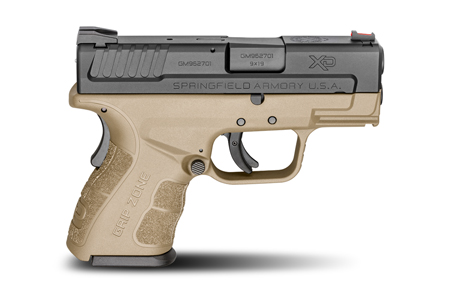 Springfield Armory XDG9801FDE XD Mod.2 Sub-Compact  9mm Luger Double 3
