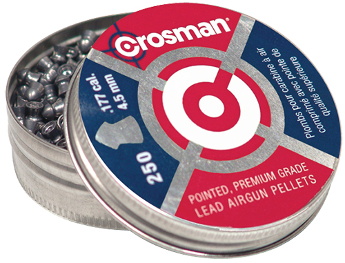 Crosman P177 CopperHead Pellets Pointed .177