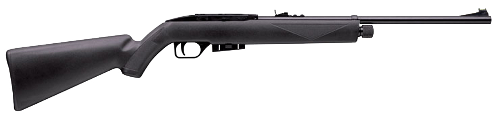 Crosman 1077 RepeatAir Rifle Semi-Auto .177 12rd CO2 625fps Syn Stk Blk