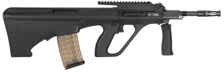 Steyr AUGM1BLKH AUG A3 M1 Semi-Automatic 223 Remington/5.56 NATO 16
