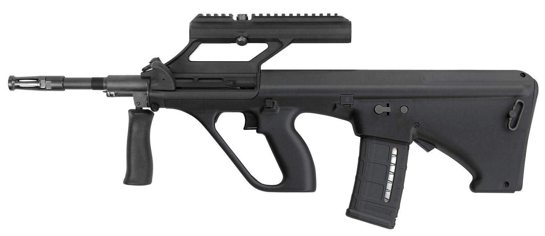 Steyr AUGM1BLKNATOO AUG A3 M1 NATO Semi-Automatic 223 Remington/5.56 NATO 16