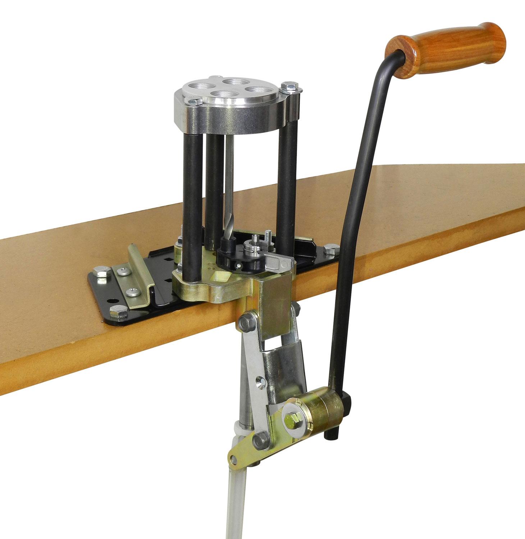 Lee Precision 90932 4 Hole  Turret Press w/ Auto Index Cast Aluminum