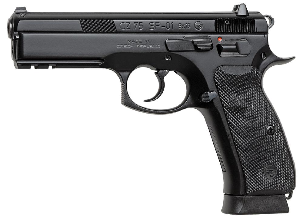 CZ 91153 CZ 75 SP-01 Tactical 9mm Luger 4.60
