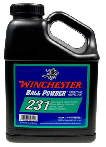 Winchester Powder 2318 Pistol 231 8 lbs 1 Canister
