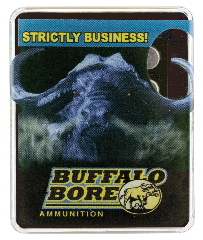Buffalo Bore Ammunition 35D/20 460 Rowland 255 GR Hard Cast Flat Nose 20 Bx/ 12 Cs