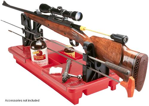 MTM Case-Gard RMC-1-30 Portable Maintenance Center  Rifle/Muzzleloader/Shotgun Red Polypropylene