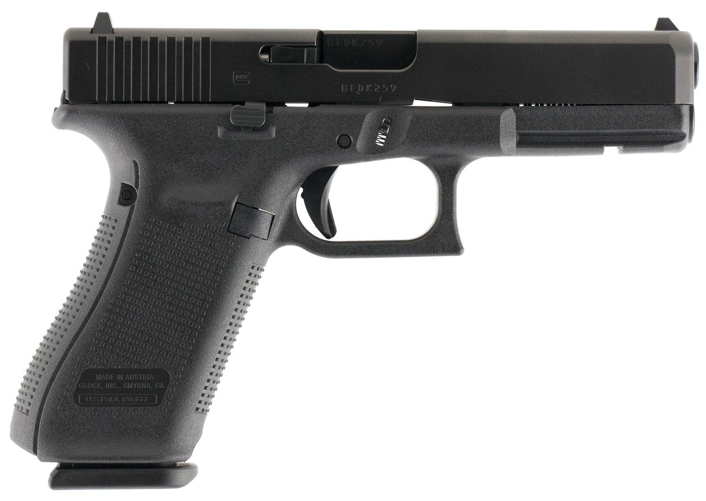 Glock PA1750203 G17 Gen5 Double 9mm Luger 4.49