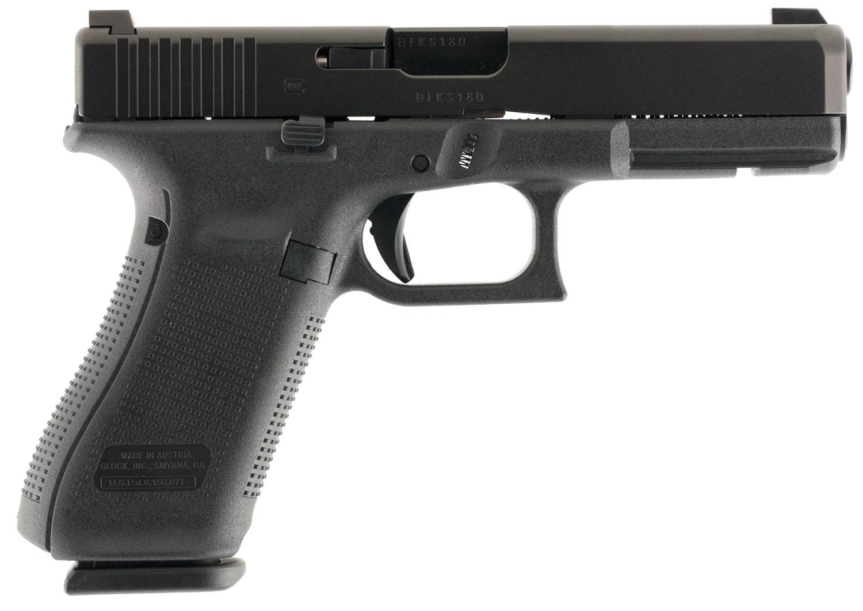 Glock PA1750703 G17 Gen5 Double 9mm Luger 4.49