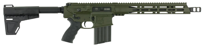 Diamondback DB10PODG13 DB10 AR Pistol Semi-Automatic 308 Winchester/7.62 NATO 13.5