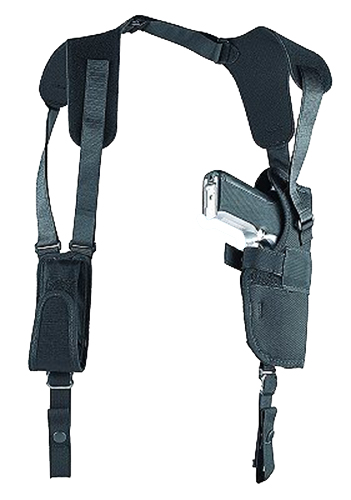 Uncle Mikes 83051 Sidekick Vertical Shoulder Holster Fits Chest up to 48