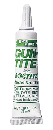 GUN TITE FROM LOCK TITE 6ML BOTTLE