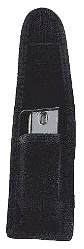 Uncle Mikes 8832 Universal Single Mag/Knife Pouch 9mm/40 S&W, Single Row 10mm/45ACP Metal Mag Up to 2.25