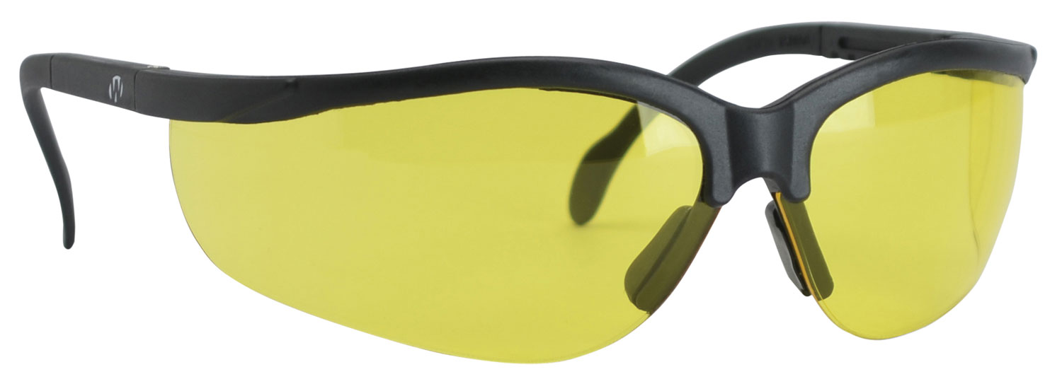 Walkers GWPYLSG Sport Glasses Yellow Lens Black Polymer Frame Polycarbonate Lens Yellow Items Header
