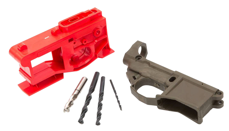 Polymer80 P80NKITODG G150 Phoenix2 AR-15 80 % Lower Receiver Kit AR Platform Multi-Caliber OD Green