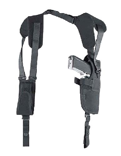 Uncle Mikes 75011 Vertical Shoulder System 7501-1 01 Black Nylon