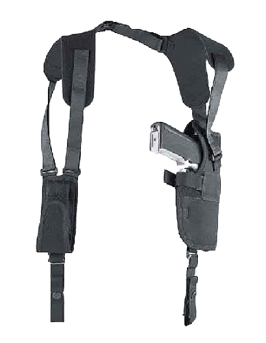 Uncle Mikes 75051 Pro Pack Vertical Shoulder Holster 4.5