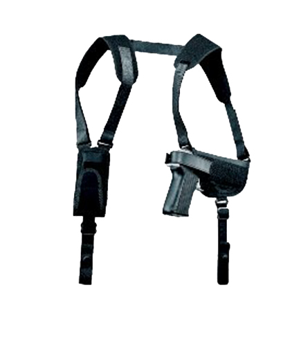 Uncle Mikes 77050 Pro Pack Horizontal Shoulder Holster 4.5
