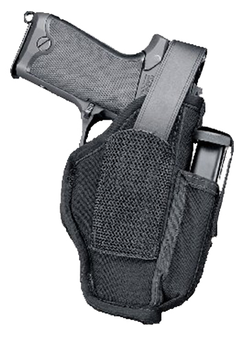 Uncle Mikes 70050 Sidekick Hip Holster with Mag Pouch 4.5