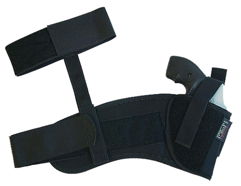 Uncle Mikes 8812 Ankle Holster Glock 26/27/33 Cordura Nylon Black