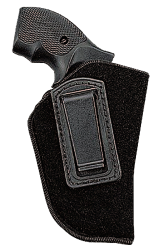 Uncle Mikes 8912 Inside the Pants Open Style Holster LH Glock 26/27/33 Suede Black