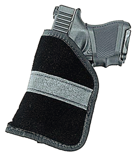 Uncle Mikes 87444 Inside The Pocket Holster Suede Black Sub-Compact 9mm/40 Auto