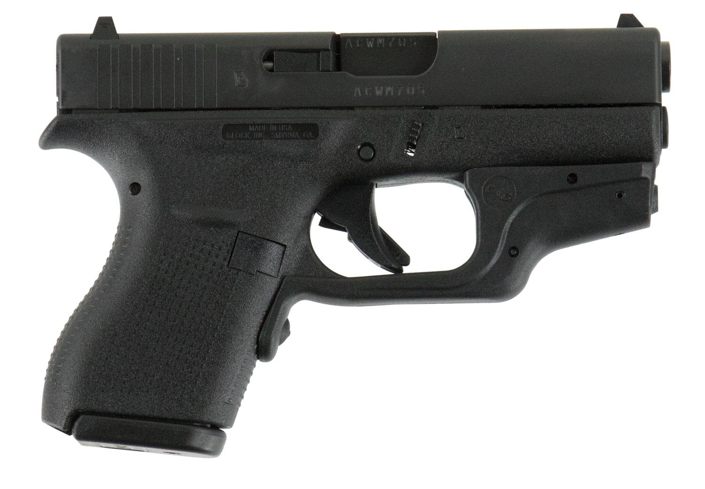 Glock UI4230201CTH G42 Subcompact Double 380 Automatic Colt Pistol (ACP) 3.25