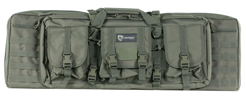 Drago Gear Double Gun Case  <br>  36 Inch Grey