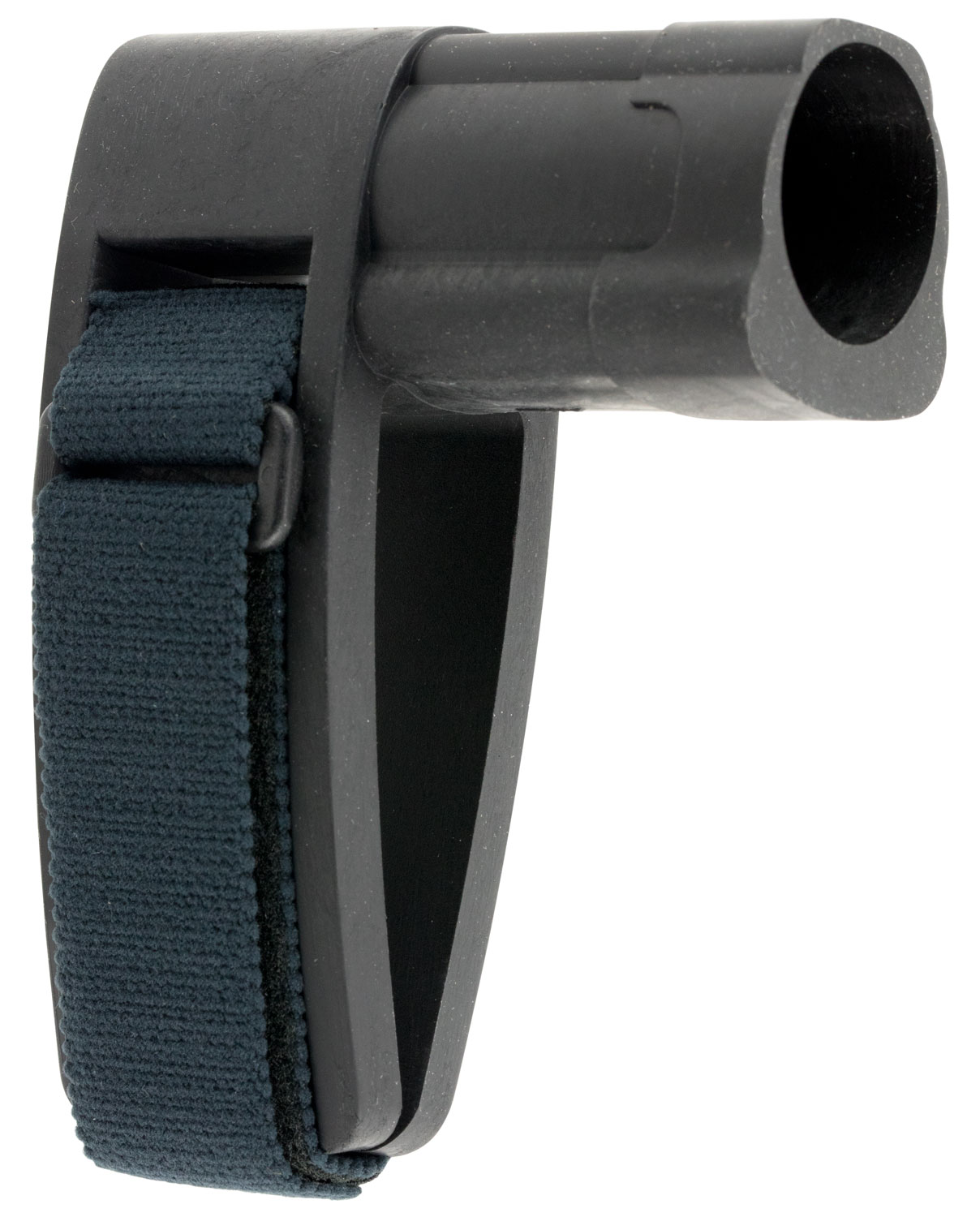SB Tactical SBMINI-01-SB AR Brace Mini Elasto-Polymer Black with SBT Logo