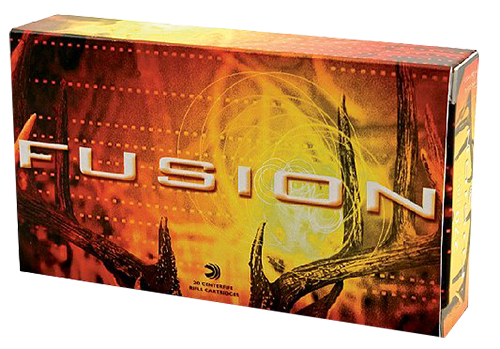 Federal F338FFS2 Fusion Rifle  338 Federal 200 GR Fusion Soft Point 20 Bx/ 10 Cs