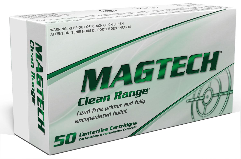 Magtech CR9B Clean Range 9mm Luger 124 GR Encapsulated Bullet 50 Bx/ 20 Cs
