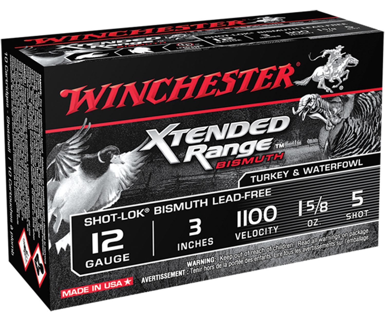 Winchester Ammo XRB1235 Xtended Range Bismuth 12 Gauge 3